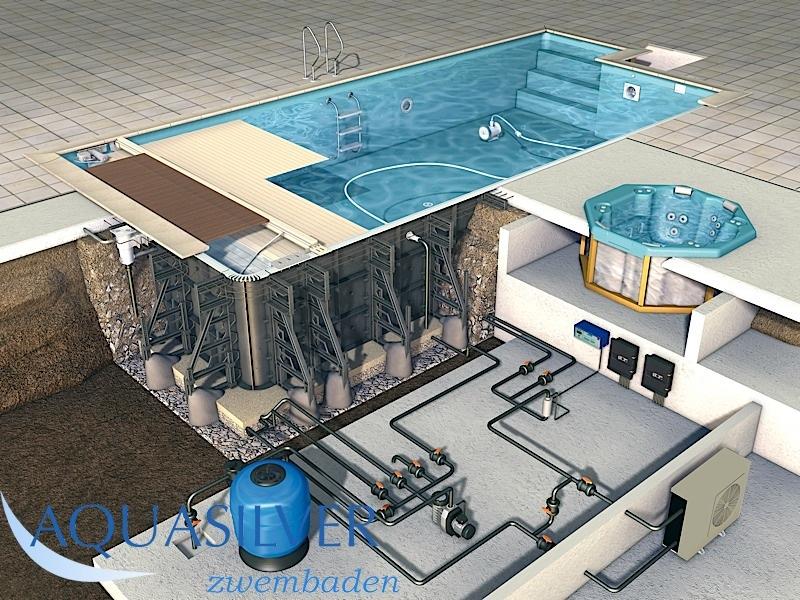 Bekend polypropoleen zwembad IA-07