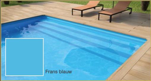 Deluxe rechthoek 650 x 350 x 150 lamellen afdekking rechthoek635 - Zwembad kleur liner ...