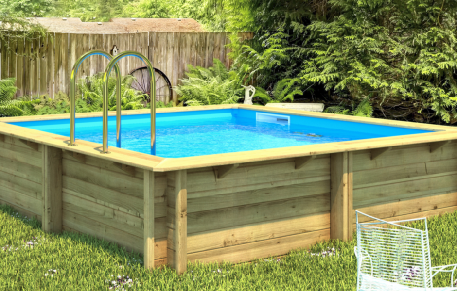 Zwembad tropic junior 27160409 for Opbouw zwembaden