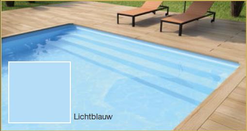 Rechthoek zwembad 450 x 300 x120cm - Zwembad kleur liner ...