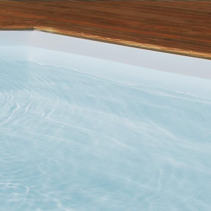 Metsel zwembad - Zwembad kleur liner ...