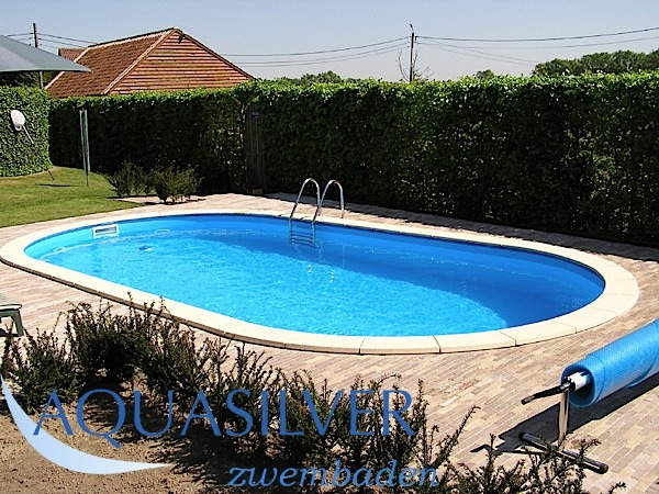 Ovaal 916 x 460 x 120 set for Poolfolie 460 x 120