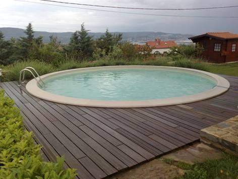 Rond zwembad