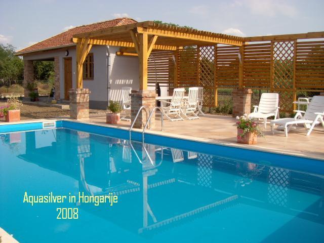 Rechthoek zwembad 450 x 300 x120cm for Opzet zwembad rechthoek