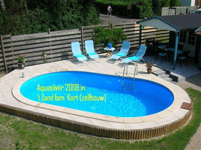 Rechthoek staalwand zwembaden for Inbouw zwembad rechthoek