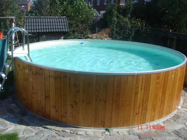 Zwembad rond cm cm